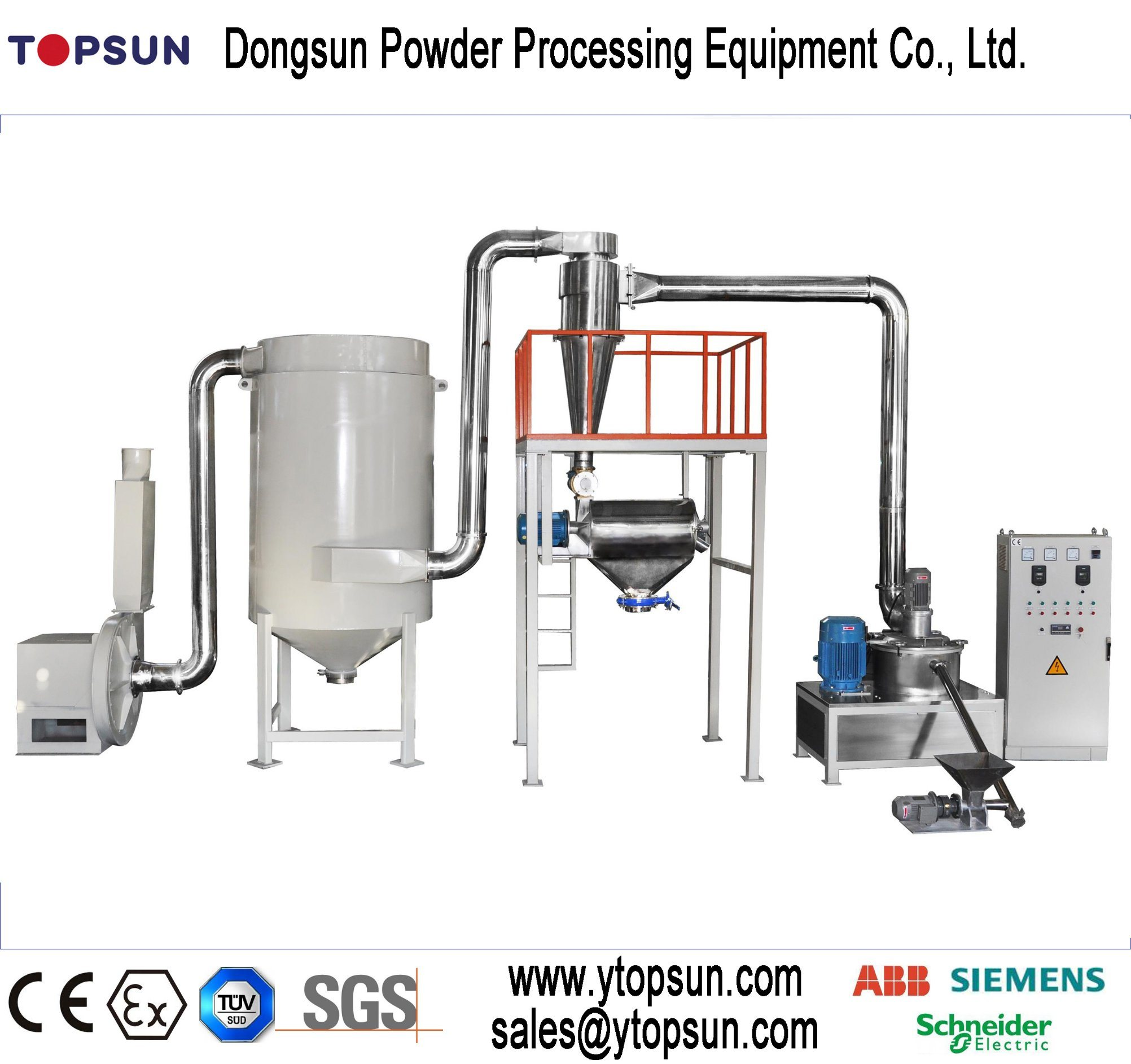 Powder Coating/Paint Producing/Manufacturing/Production/Making Machinery