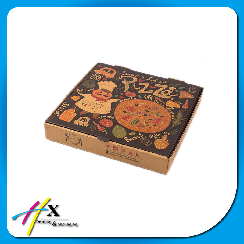 Custom All Size Paper Chocolate Salad Cake Cookies Pizza Box