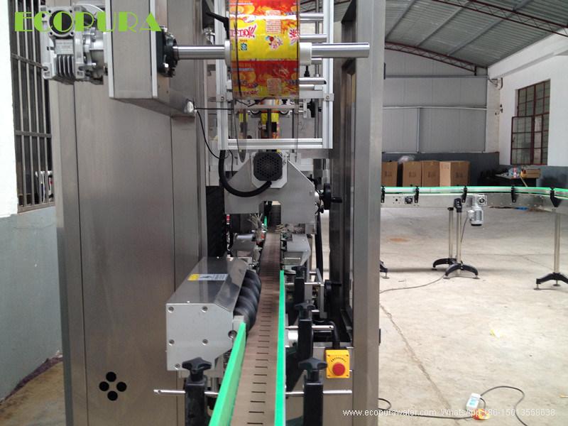 Automatic Bottle Labeller / Sleeve Shrink Labeling Machine / Shrinking Label Machinery