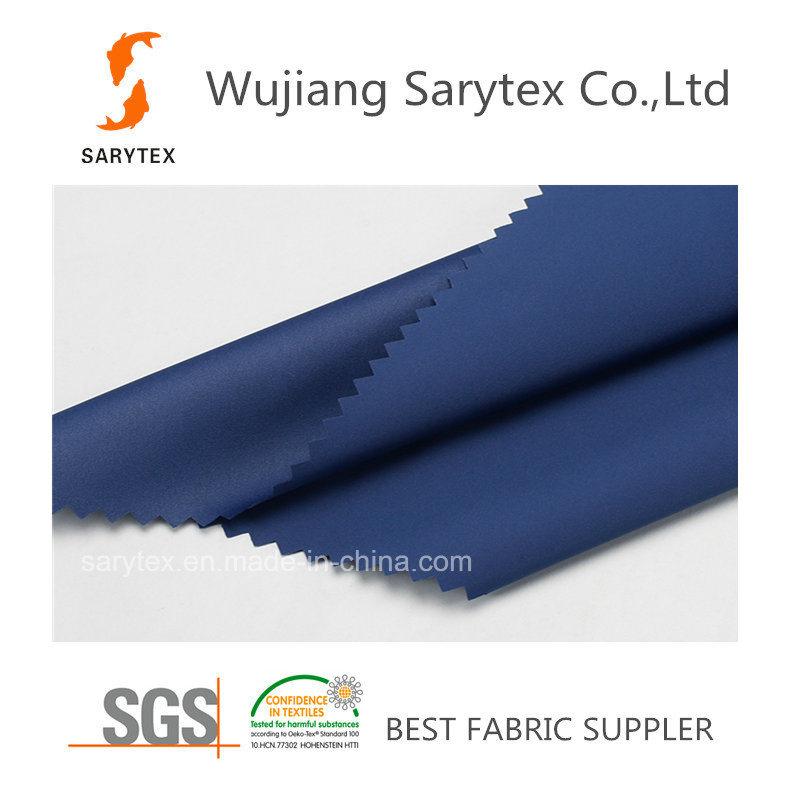 100% Polyester Satin Fabric/Pongee Fabric/Taffeta Fabric for Downproof Garment