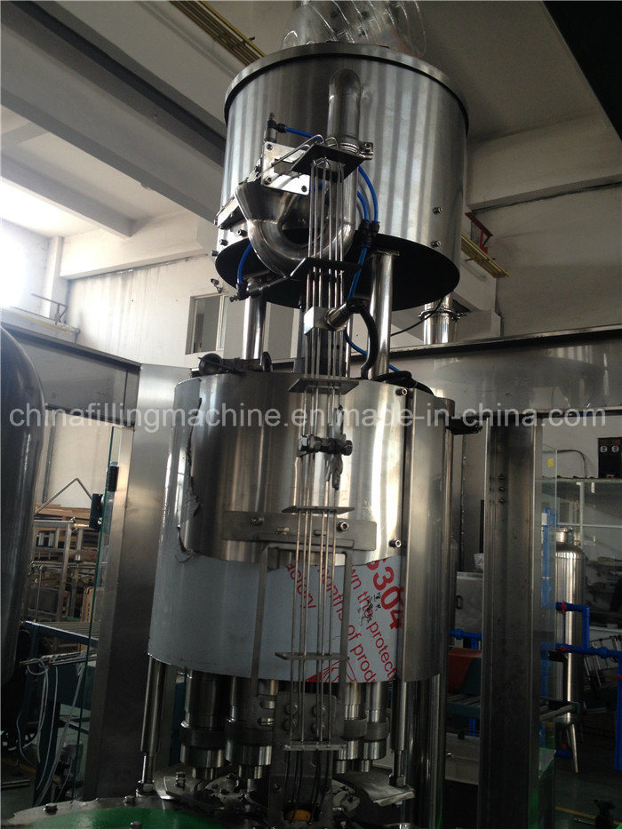 Automatic Vegetable Oil Filling Capping Machine with Ce Certificate