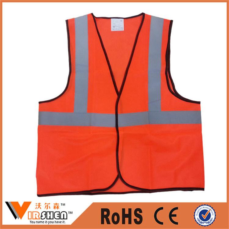 Cheap Price Custom Logo Reflective Safety Vests