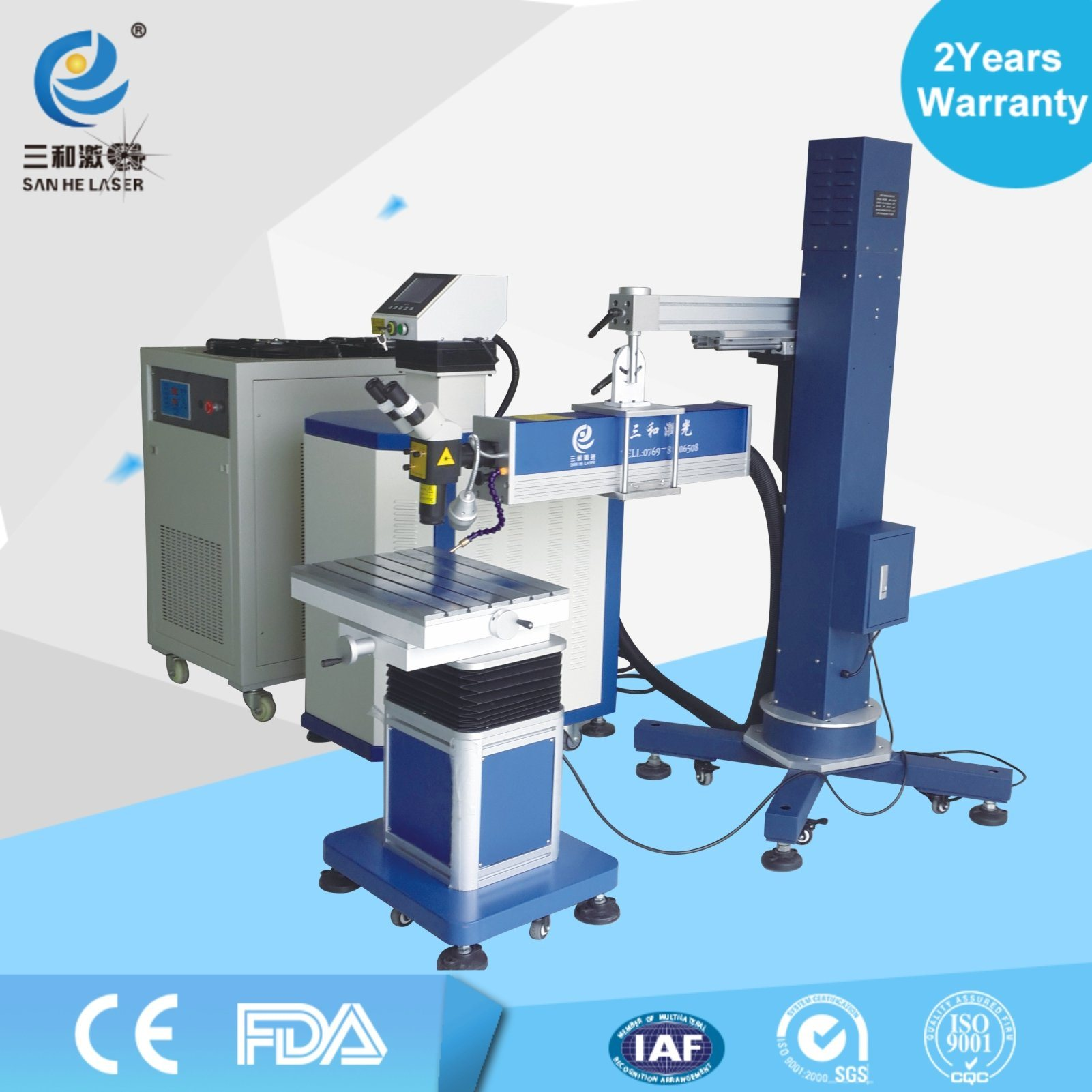 Factory 200W300W Laser Welding Machine for Large Mold Automatic Arm Boom