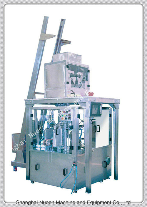 Nuoen Six Stations Automatic Packaging Machine for Particles/Powder