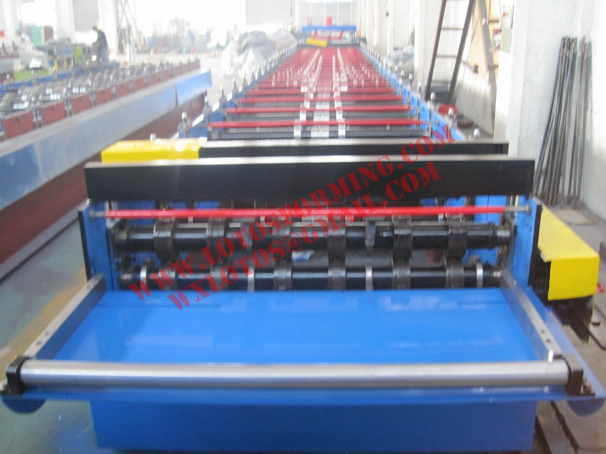 New Design Deck Floor Roll Forming Machine