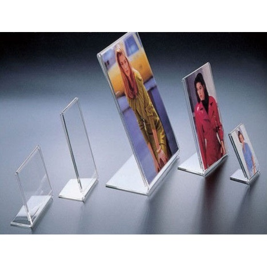 Customize Acrylic Picture Clear Acrylic L Shape Photo Frame