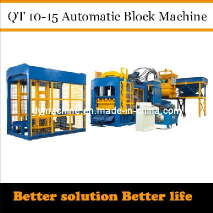 Fully Automatic Brick Making Machine Qt10-15 Dongyue