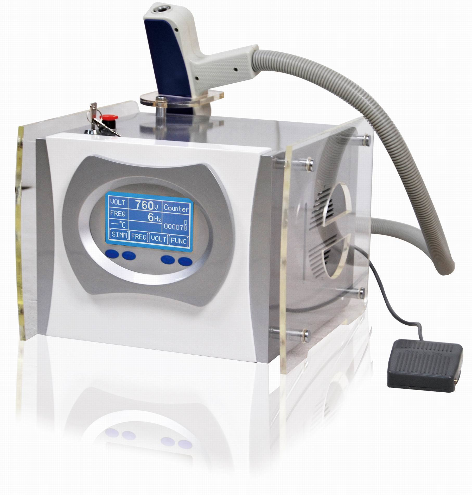 Q switched nd yag laser hair removal for Laser tattooing machines