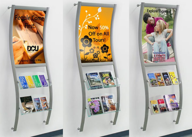 wall mounted display