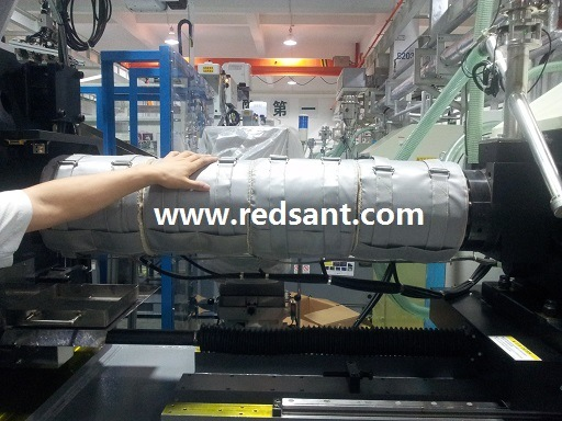 Thermal Insulation Jackets for Plastic Injection Mould Machine
