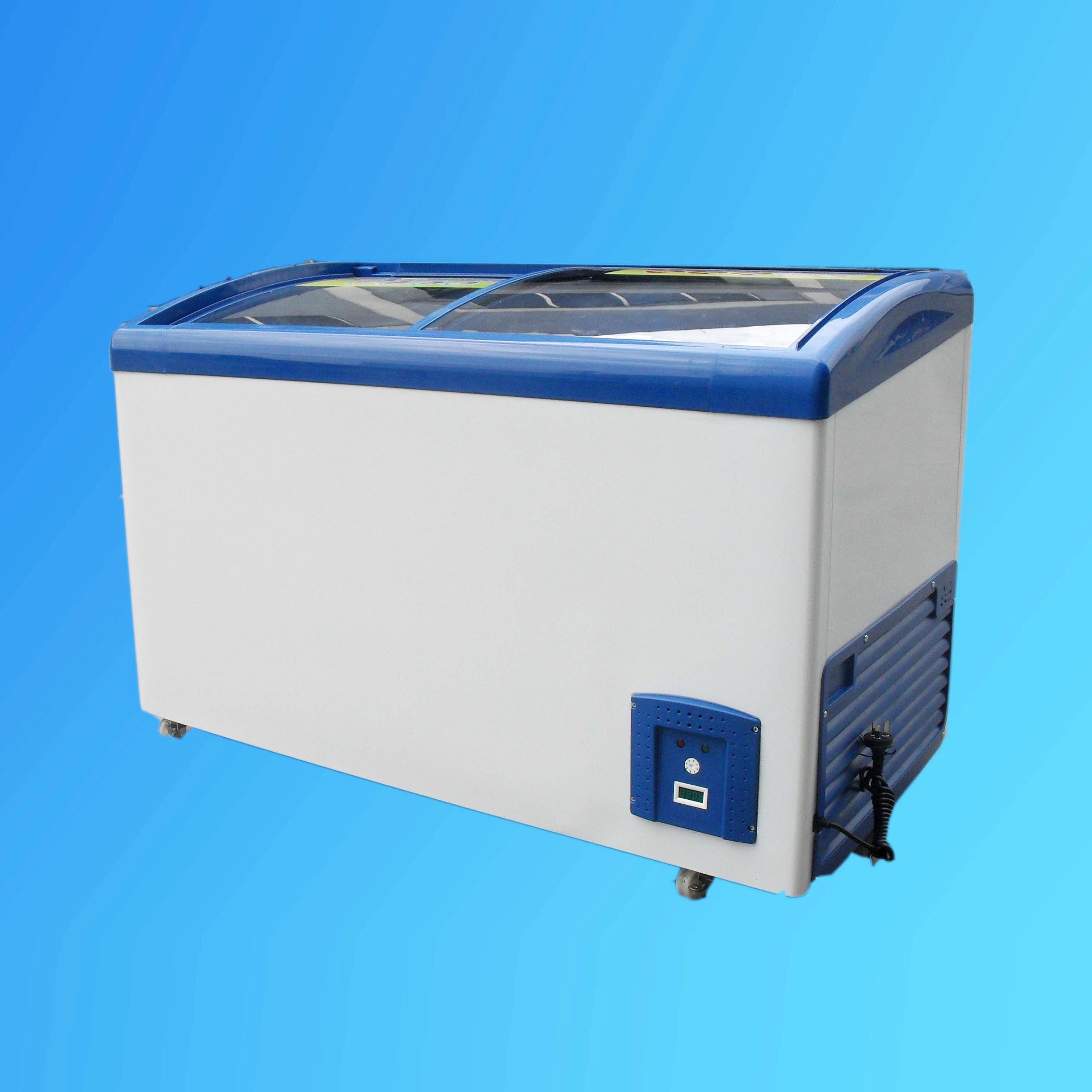 Low Temperature Glass Door Freezer (SD-308Y)