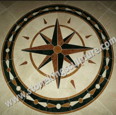 Stone Mosaic, Marble Mosaic/ Medallion (SK-3355)
