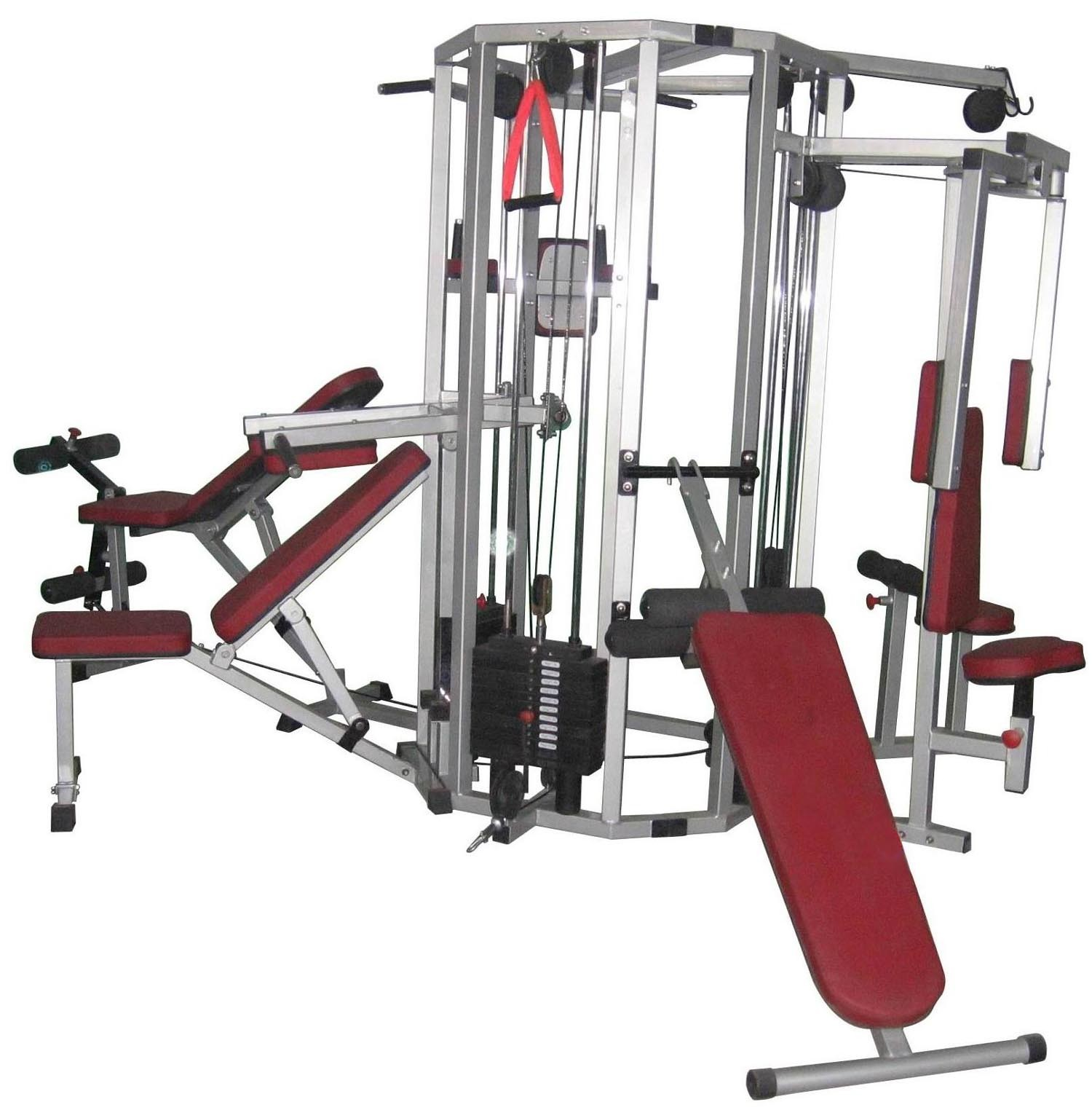 Exercise fitness home gym equipment - Images of home gyms ...