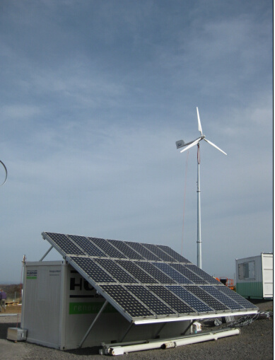 Ah-5kw Pitch Controlled Wind Turbine Generator on Grid System Solution
