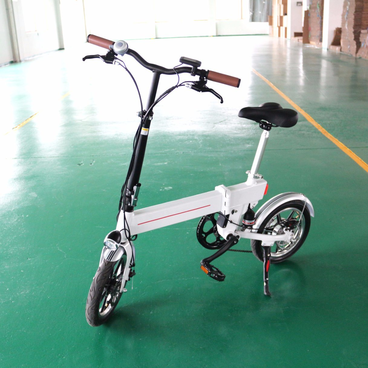 2017 New 36V Lithium Battery Folded Electric Bike 1401