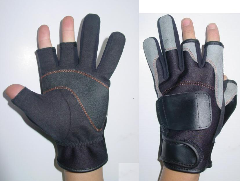 China neoprene fishing gloves ycg01 china neoprene for Neoprene fishing gloves