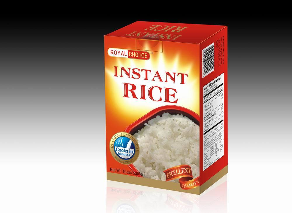 Instant White Rice : China instant white rice fast meal