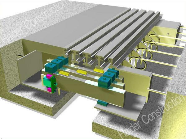 China modular expansion joint bridge
