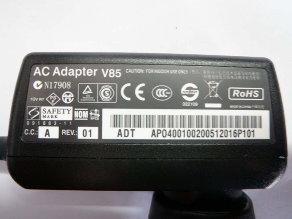 Laptop AC Adapter for HP 18.5V 3.5A 65W Laptop Charger