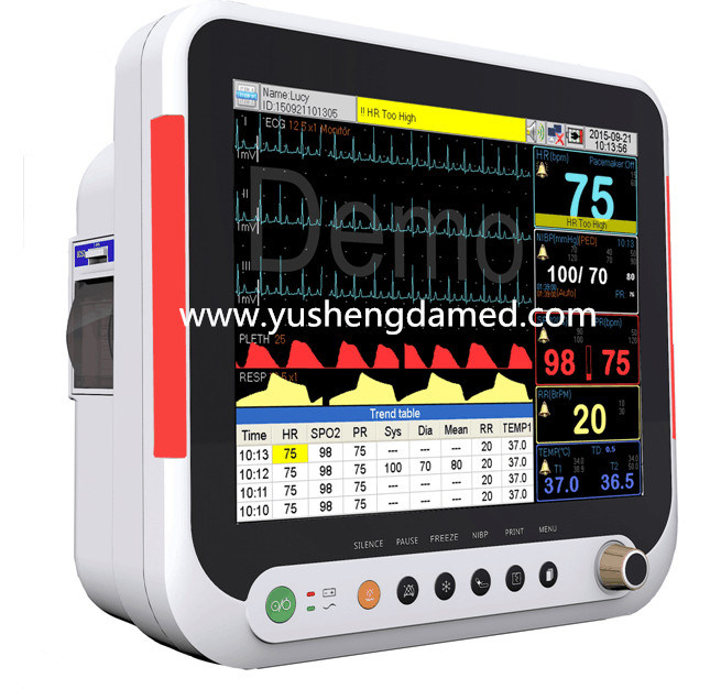 Top-Selling Medical Equipment Multi-Parameter Portable Patient Monitor