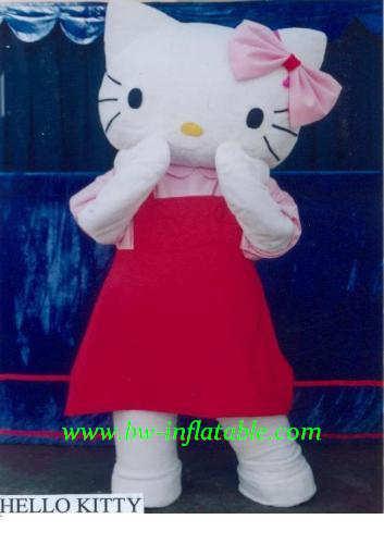 Dog Costume Hello Kitty Walking