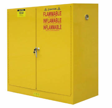 Yellow Flammable Storage Cabinet, Steel Industrial Safety Cabinet (SC3000)