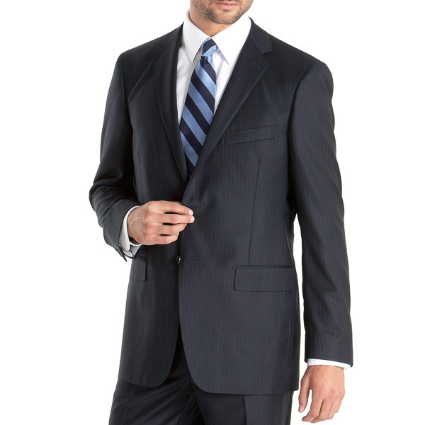 China blue striped business men suit photos amp pictures made in china