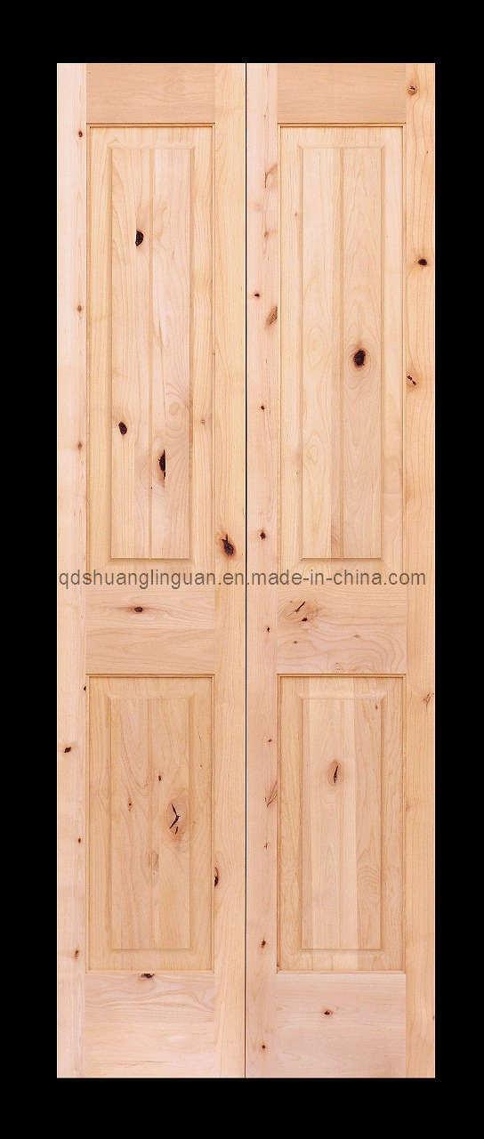 Wood Bifold Closet Doors ...