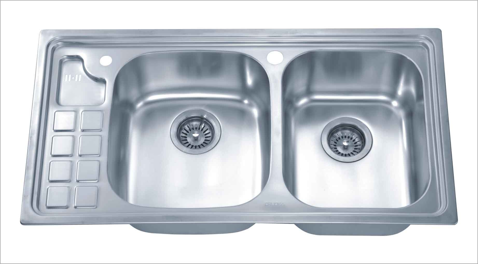 Stainless Steel Kitchen Sinks : ... Steel Kitchen Sink (2873) - China Kitchen Sink, Stainless Steel Sink