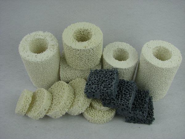 Casting Ceramic Magnesia/MGO Ceramic Foam Filter
