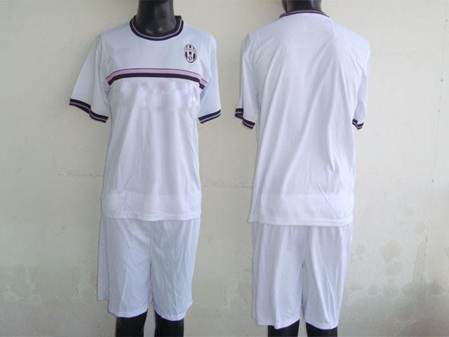 White Soccer Uniform 25