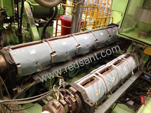 Extrusion Machine Energy Saving Jacket