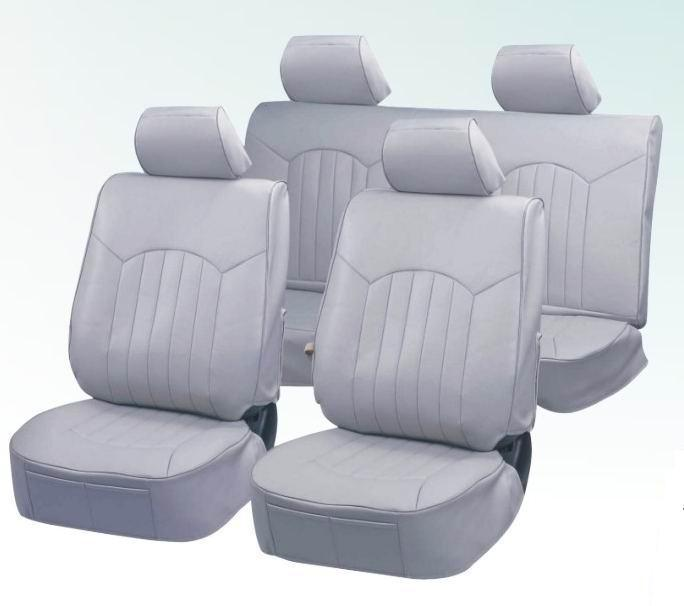 Silvery PVC Car Seat Cover Four All Seasons (BT2058)