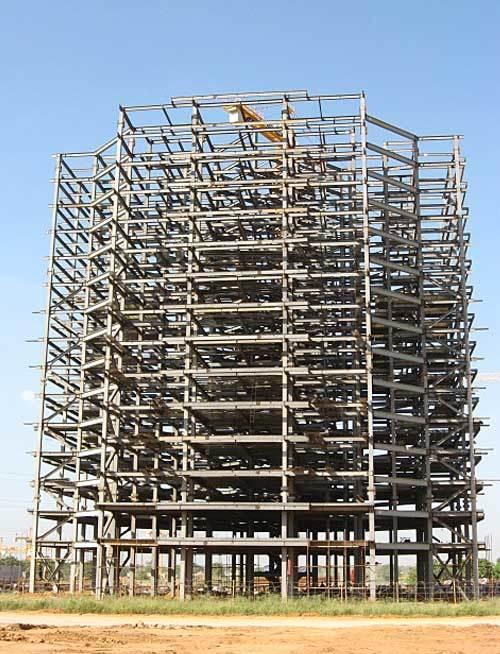 Steel Structure Building - Qingdao Xinguangzheng Steel Structure ...