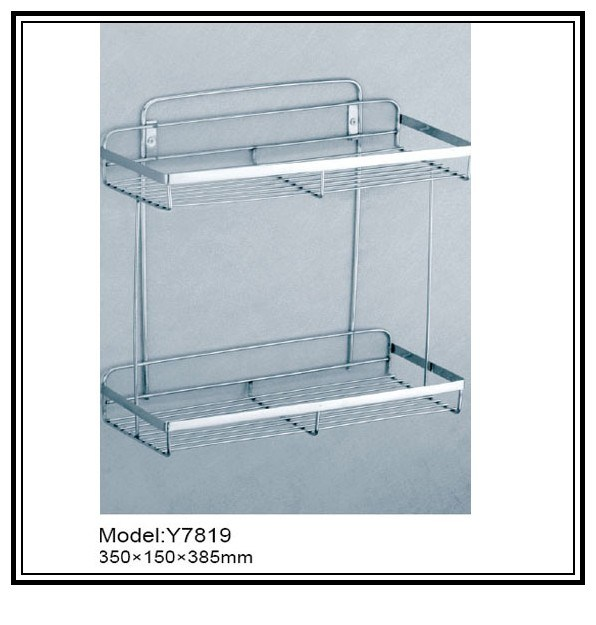 China stainless steel shelf bath basket multifunctional - Bathroom shelves stainless steel ...