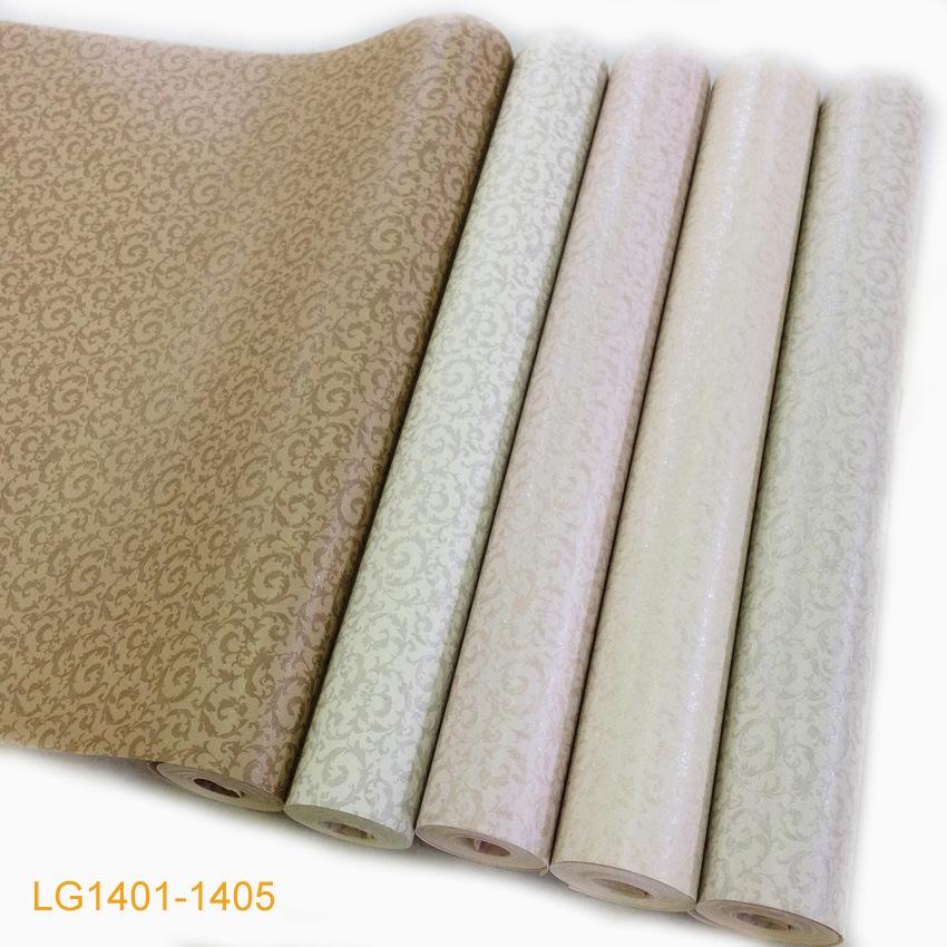 Papel pintado de madera floral lavable ign fugo lg1401 1405 de la pared del pvc del estilo de - Papel pintado lavable ...