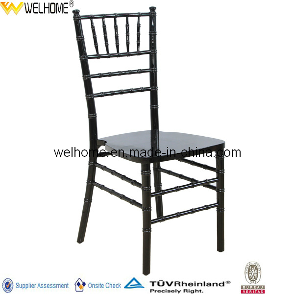 Cheap Wood Stackable Tiffany Chair for Banquet