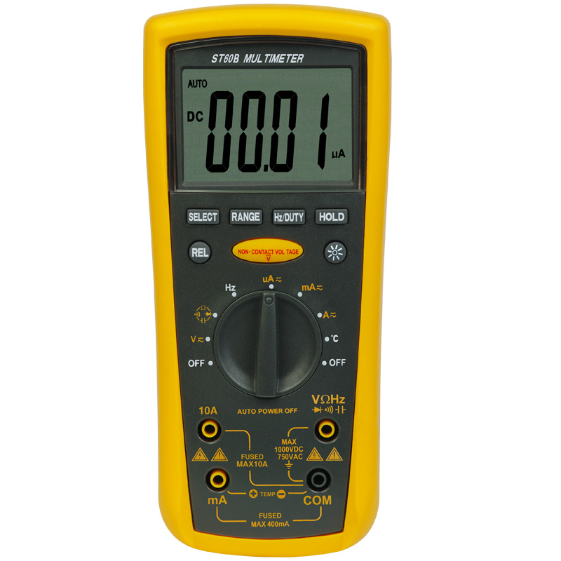 Digital Multimeter Symbols : China auto range digital multimeter st b