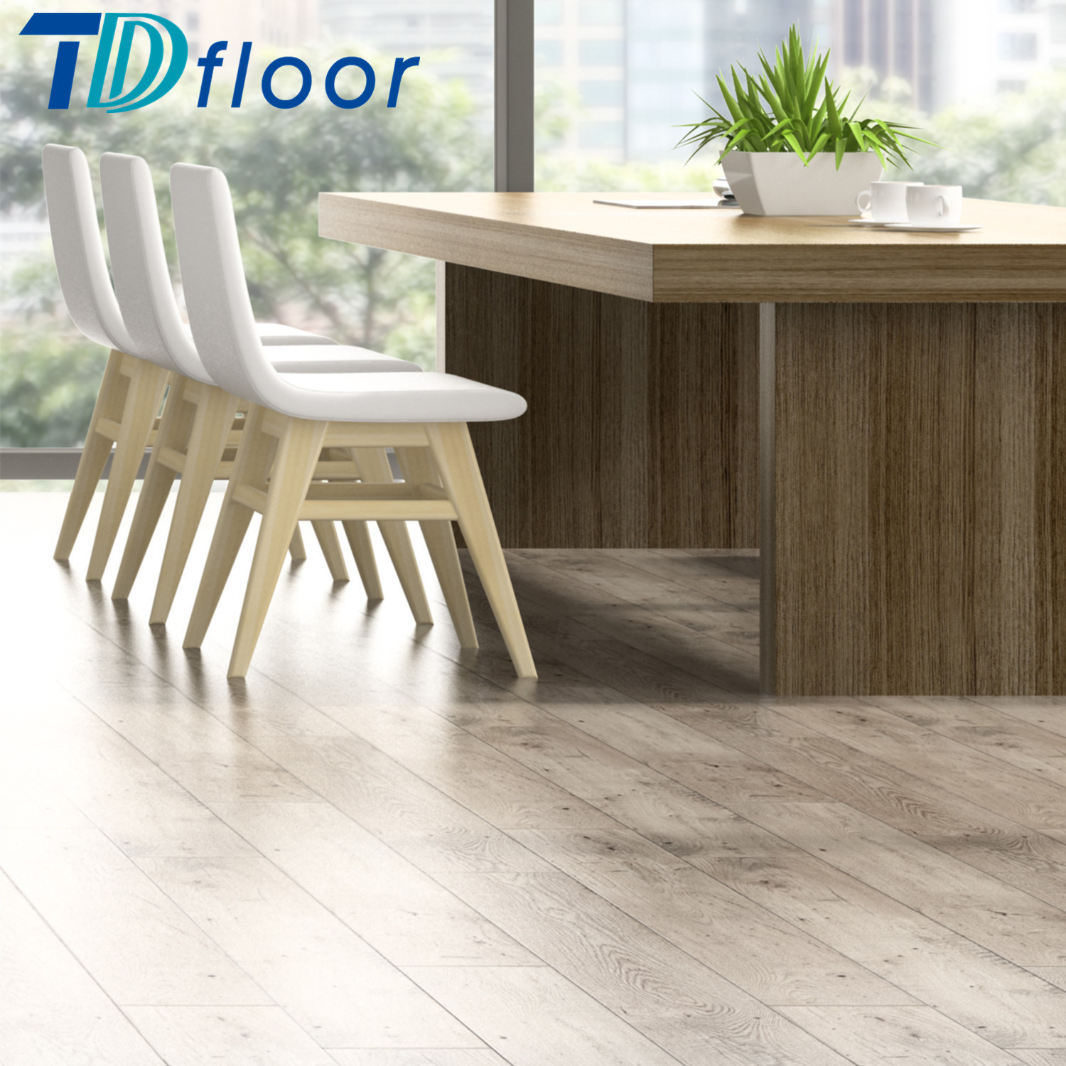 High Quality Wood Series Click PVC Vinyl Flooring