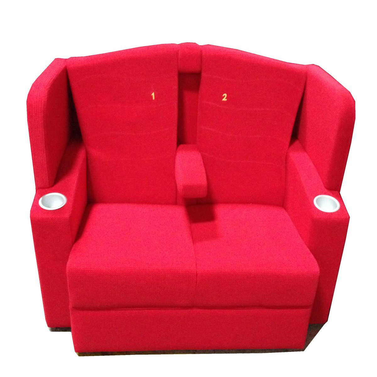 Couple Seat Couple Cinema Seating VIP Lover Sofa Theater Chair (SA)