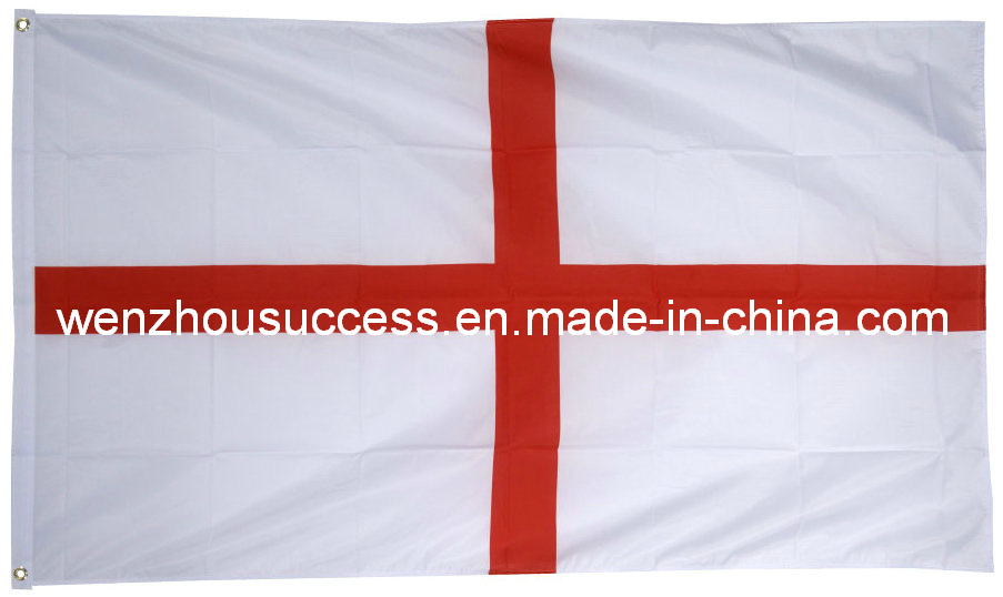 High Quality Polyester England St George National Flag