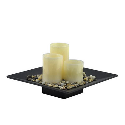 Wooden candle holder bed mattress sale for Oxford turned wood candle holders