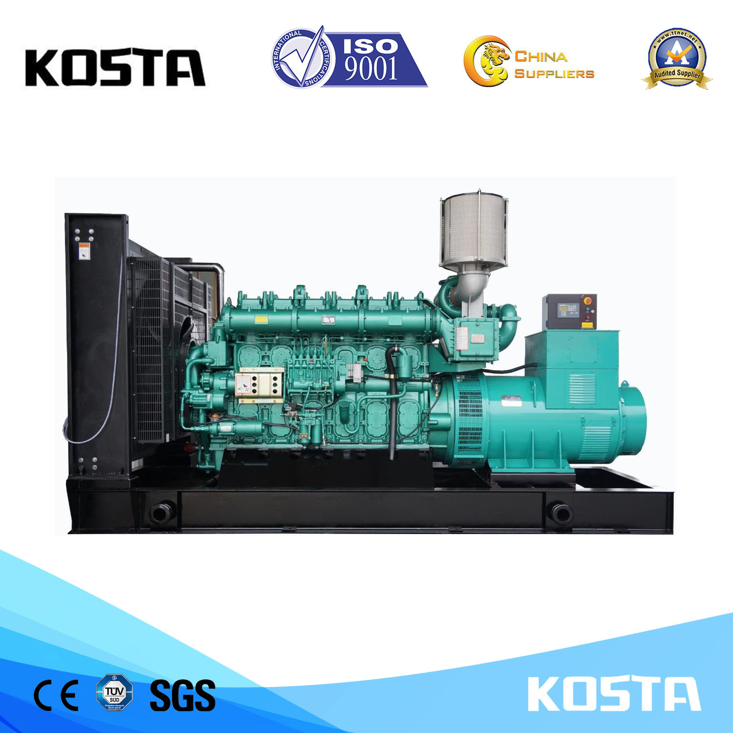 China 625kVA Yuchai Portable Diesel Generator for Sale with Good