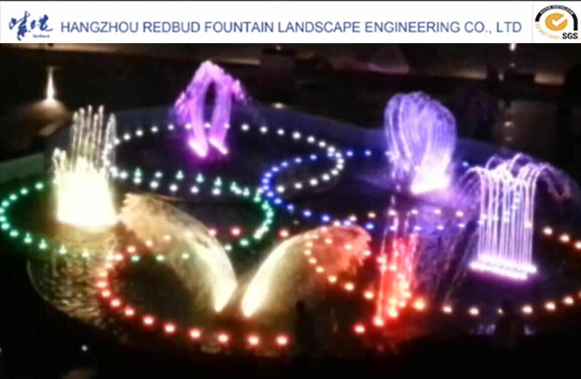 Mechanical Bird Swing Fountain