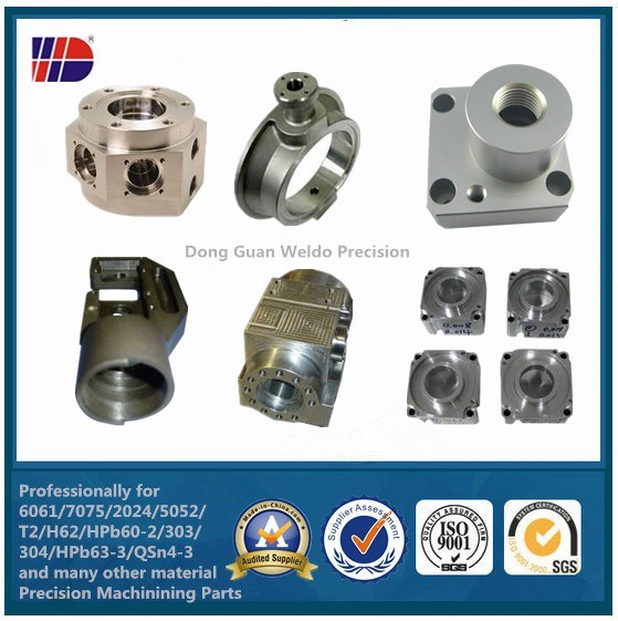 High Precision CNC Machining Parts with Stainless Steel (WKC-10)