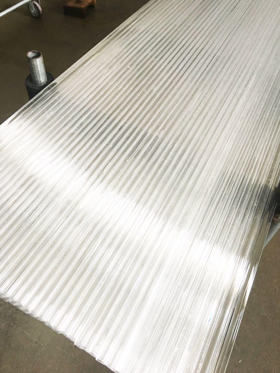Polycrystalline Quartz Rod