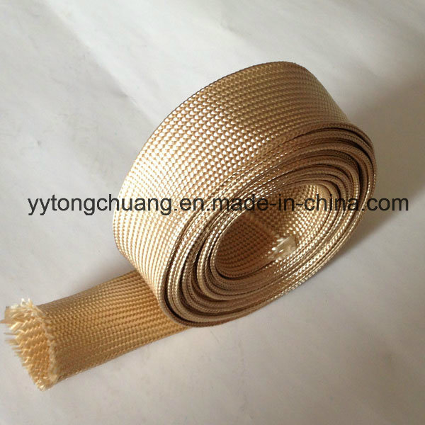 Heat Treated Fiberglass Insulating Sleeve for Protection Pipe