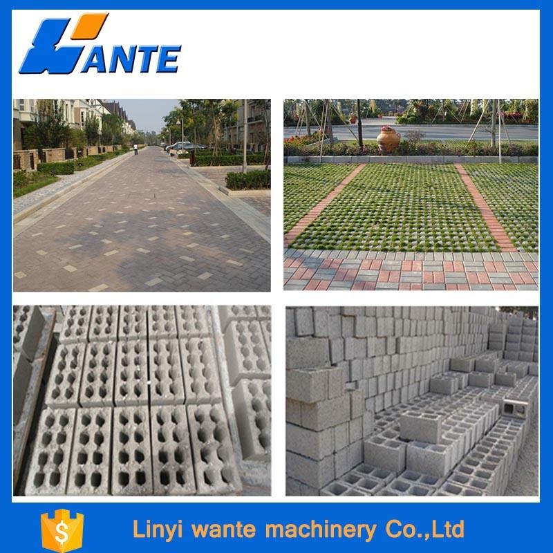 Qt6-15c Cement Brick Making Machine, Hydraulic Concrete Block Making Machine