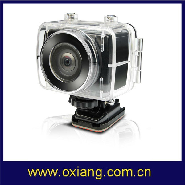HD 1080P Underwater Camera 30m Waterproof Action Camera 170 Wide Angle