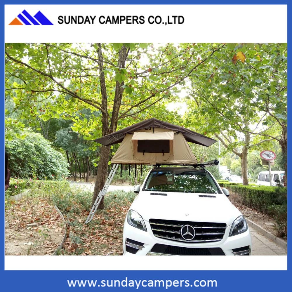OEM 4WD Car Offroad Camping Trucks Folding Roof Top Tent